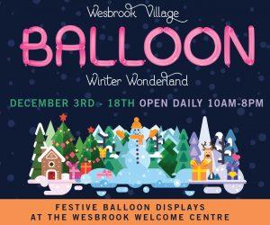 Wesbrook Balloon Display